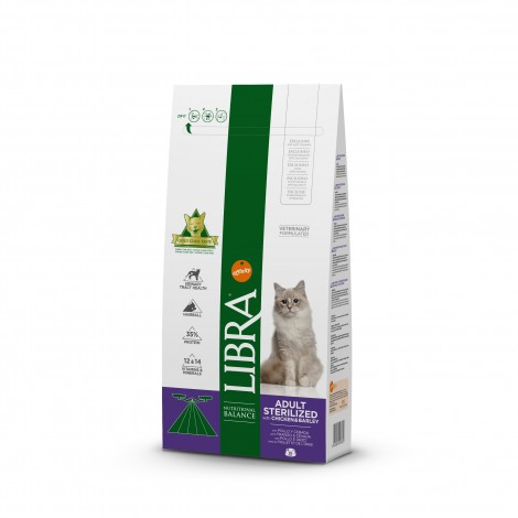 Libra cat sterilized 1,5 kg.