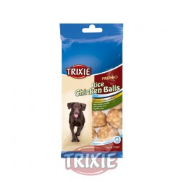 Snack Trixie rice chicken balls para perros