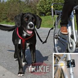 Extensión para amarre de perros en la bicicleta