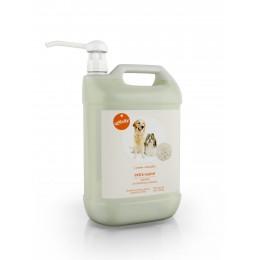 Champú extra suave para perros Caricias naturales 5 litros