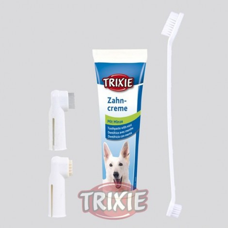 Set de higiene dental para perros