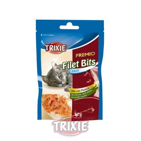 Snack Filet Bites Light de pollo para gatos