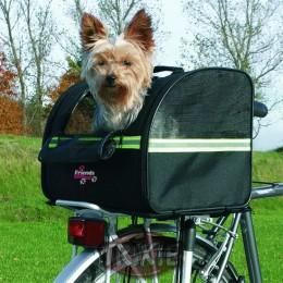 Transportín de nylon para bicicletas