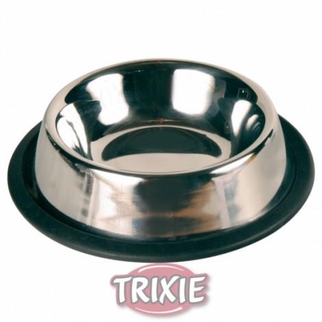 Comedero de acero para gatos 11 cm