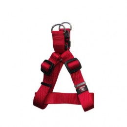Arnés para perros Practic Basic Nylon Talla S Rojo