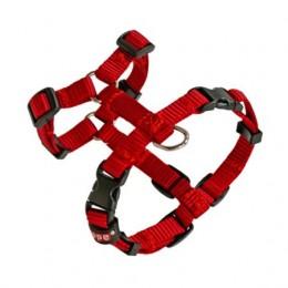 Arnés para perros Regulable Basic talla XS Rojo