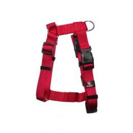 Arnés para perros Nylon Regulable Basic Talla XL Rojo