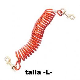 Cable amarre Elastic para perros hasta 54 kg.