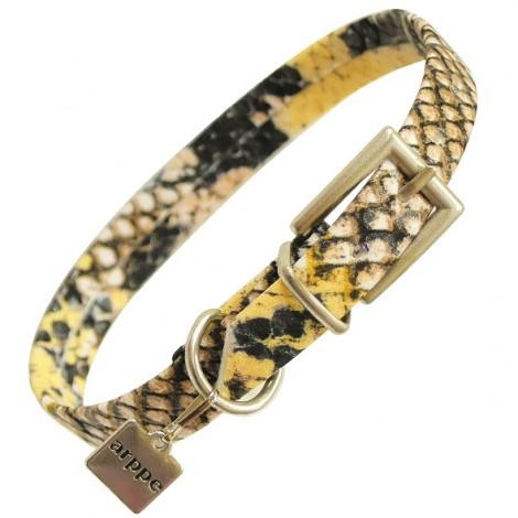 Collar Savage piel de serpiente para perros