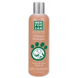 Menforsan Champú protector para perros con aceite de visón 300 ml.