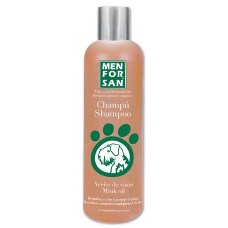 Champú protector para perros con aceite de visón
