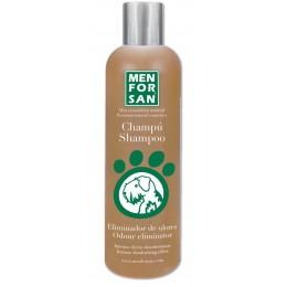 Menforsan Champú natural elimina olores con canela para perros 300 ml.