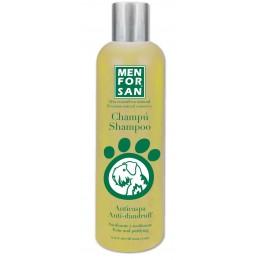 Menforsan Champú natural anticaspa con limón para perros