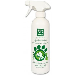 Menforsan Spray repelente de insectos con citronela para perros 500 ml.