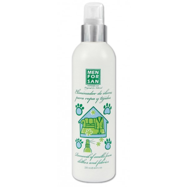 Spray ambientador eliminador de olores de mascotas 250 ml for Spray elimina olores ropa