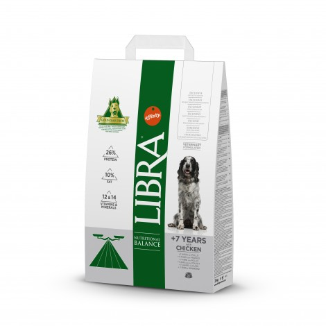 Libra Dog Senior 3 kg.