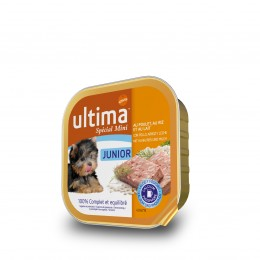 Ultima Junior pollo y arroz 150 gr.