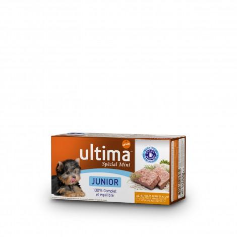 Ultima Multipac Mini Junior 4 tarrinas de 150 gr.
