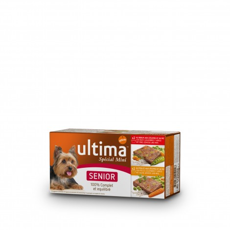 Ultima Multipac Mini Senior 4 Tarrinas de 150 gr.
