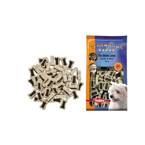 Snack Huesos cordero y arroz para perros grandes