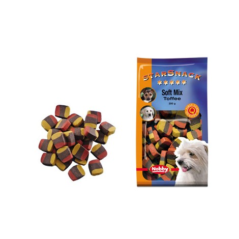 Snack para perros Soft Mix Toffee