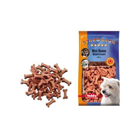 Snack Mini Huesitos de salmón para perros