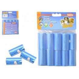 Bolsas recoge cacas azules 300 bolsas