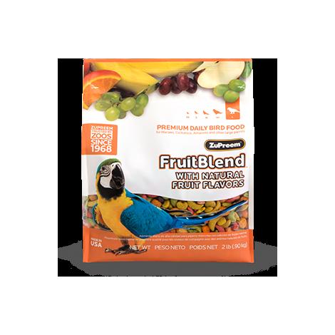 Pienso para aves ZUPREEM Multifrutas Talla L