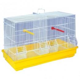 Jaula 2 departamentos para pájaros