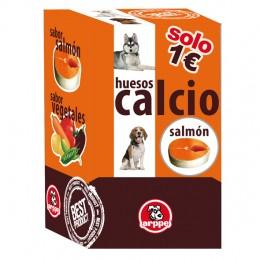 Huesitos de calcio y salmón para perros