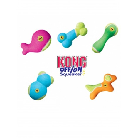 Kong Off/On Squeaker Bone
