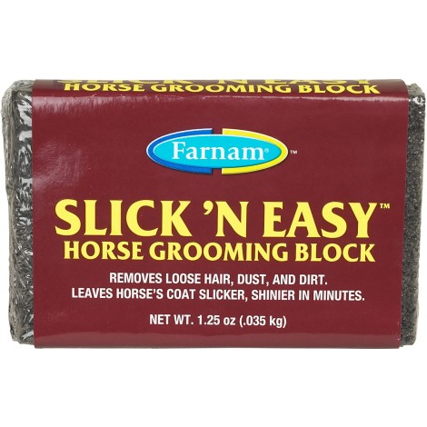 Cepillo lija para caballos SLICK'N EASY