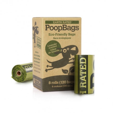 Bolsas biodegradables con aroma a lavanda Earth Rated