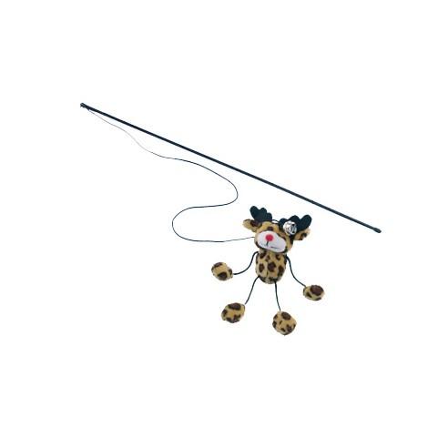 Caña de juguete para gatos