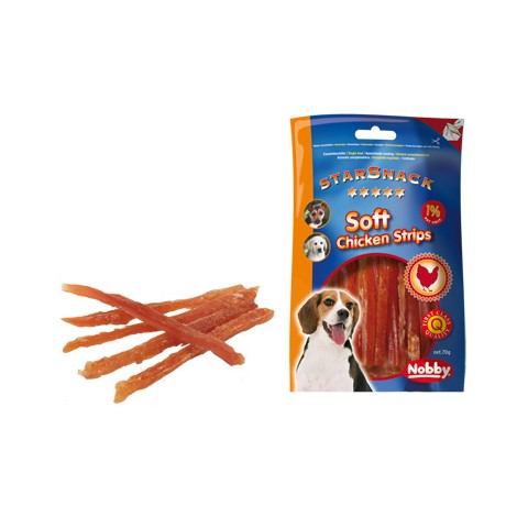 Snack Tiras de pollo para perro