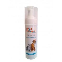 PETSANA Champú Espuma Seca 200 ml. para perros y gatos