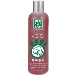 Memforsan Champú repelente natural con extracto de Neem 300 ml.