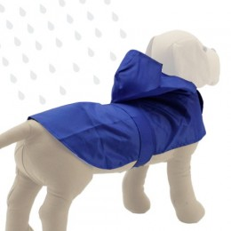 Impermeable Azul para perro
