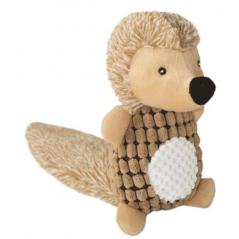 Erizo de juguete con sonido para perros
