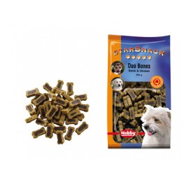 Snack para perro Dog Duo Bones Game & Chicken