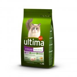 Ultima gatos esterilizados bolas de pelo 1,5 kg.
