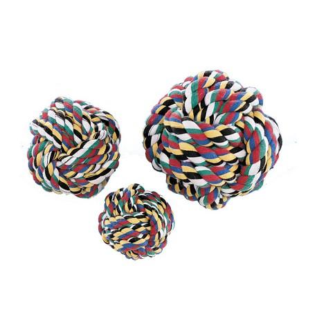Pelota de algodón multicolor