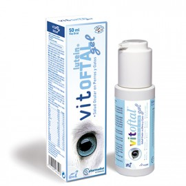 Vitoftal Lutein Gel protector del nervio óptico para perros y gatos 50 ml.