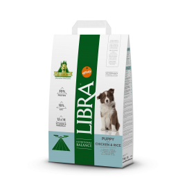 Libra puppy pollo y arroz 3 kg.