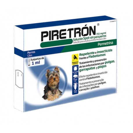 Pipetas Piretrón 1 ml.