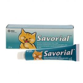 Savorial Malta pasta oral prevención y eliminación bolas de pelo para gatos 20 gr.