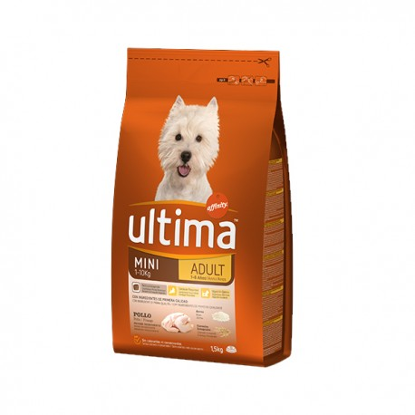 Ultima dog MINI ADULT 1,5 kg.