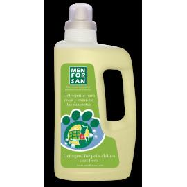 Menforsan Detergente para ropa y cama de mascotas 1l.