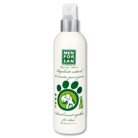 Menforsan Spray repelente natural de insectos con Citronela para perros 250 ml.