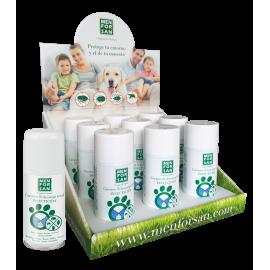 Menforsan carga Insecticida para desinfectar el entorno